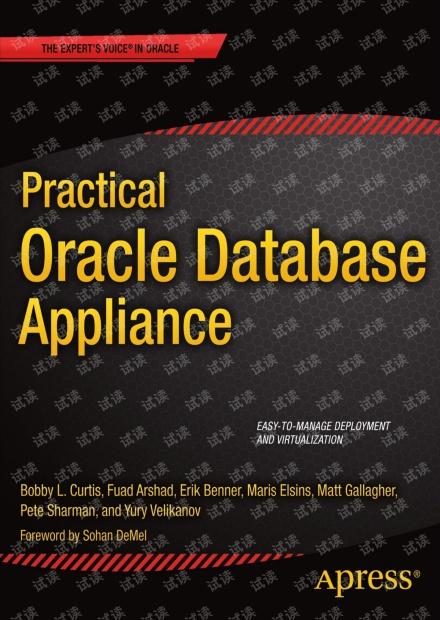 Practical Oracle Database Appliance 英文PDF扫描版