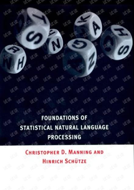 Statistical Natural Language Processing