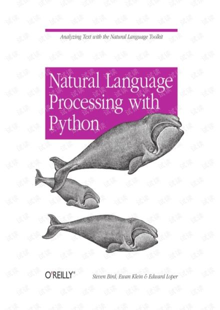 PYTHON自然语言处理中文翻译 NLTK Natural Language Processing with Python 中文版
