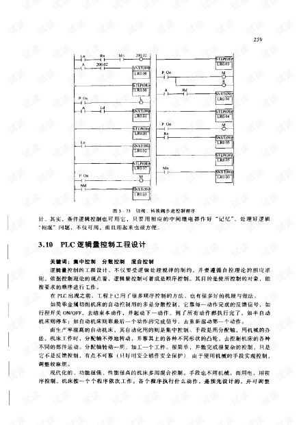 PLC编程理论.算法及技巧(宋伯生 主编)设计与应用实例__(p271-584).PDF