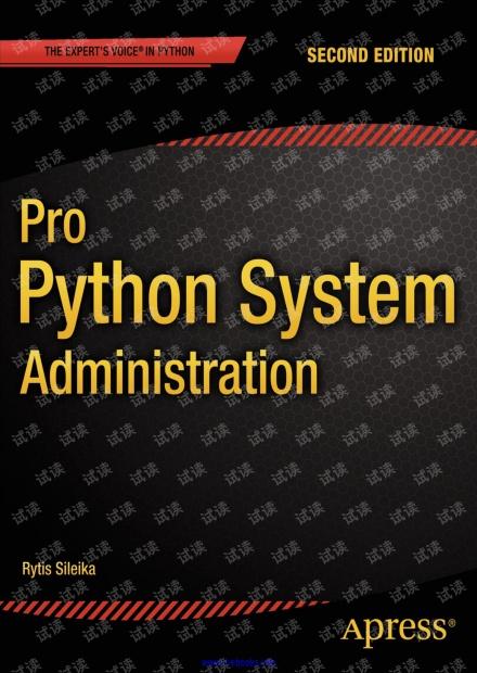 Pro Python System Administration(Apress,2ed,2014)