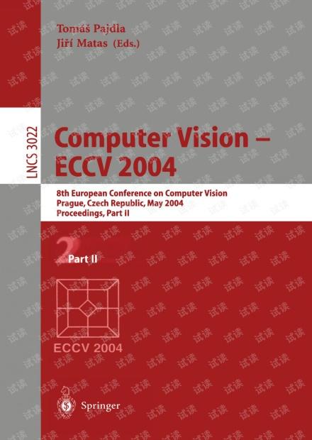 Computer Vision - ECCV 2004 Part II