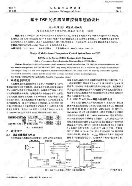 基于DSP的多路温度控制系统的设计