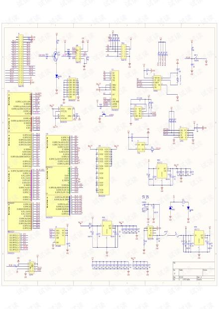 EP4CE6E22开发板完整原理图.pdf