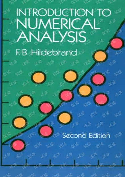 Introduction to Numerical Analysis  2nd Edition  Hildebrand