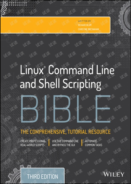 Linux.Command.Line.and.Shell.Scripting.Bible.3rd.Edition.111898384X