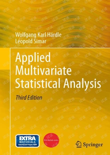 applied multivariate statistical analysis