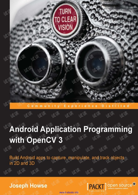 Android Application Programming with OpenCV 3(PACKT,2015)