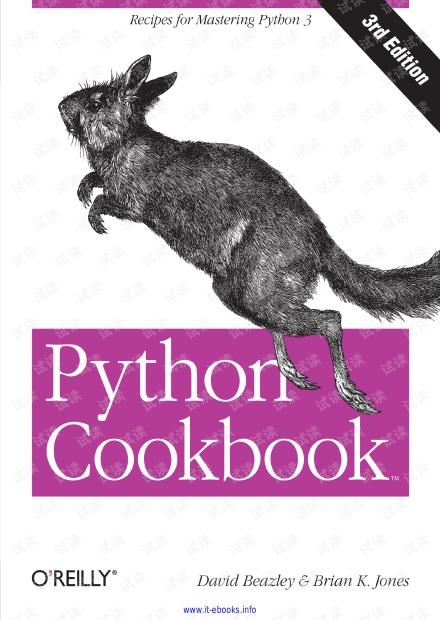 Python Cookbook 3rd