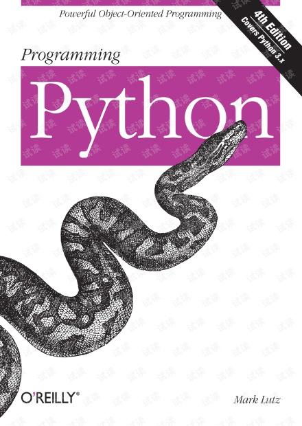 Programming.Python.4th.Edition