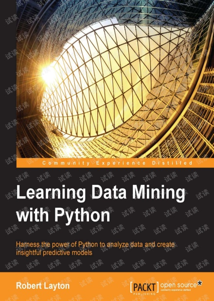 Learning.Data.Mining.with.Python