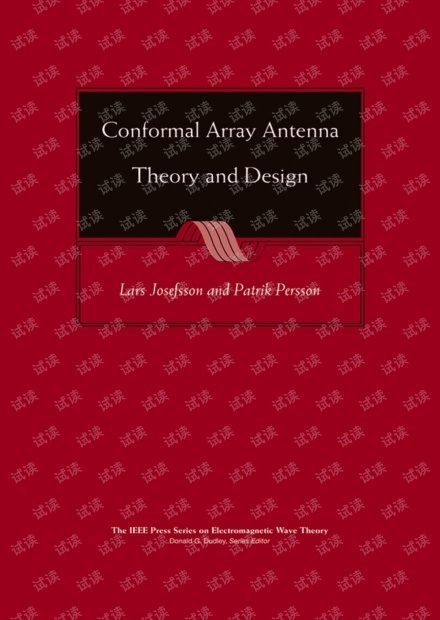 Conformal Array Antenna Theory and Design - Josefsson Persson