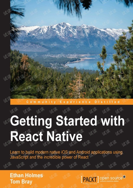 Getting Started with React Native 无水印pdf 0分