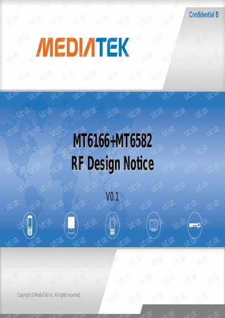 MT6166+MT6582_RF_Design_Notice_V0.1