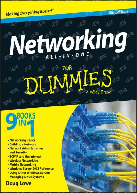 Networking All-in-One For Dummies 6th 2016第6版 无水印pdf 0分