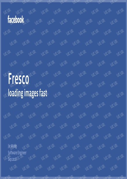 Fresco - loading images fast