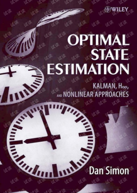 Optimal State Estimation Kalman H Infinity and Nonlinear Approaches