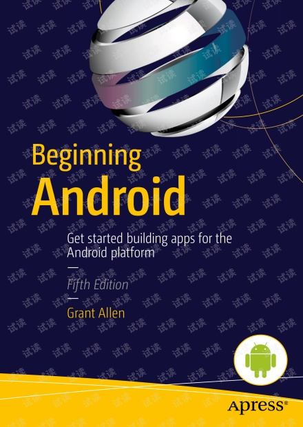 Android编程入门(-Beginning Android, 5th edition)-2015年英文原版,0积分