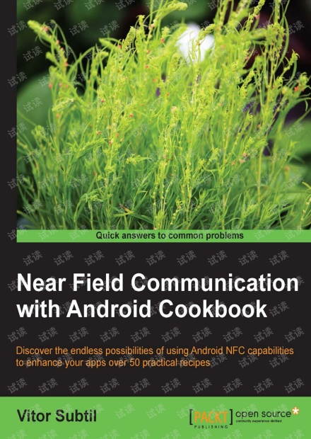 Android中NFC编程指南(Near Field Communication with Android Cookbook)-英文原版,0积分