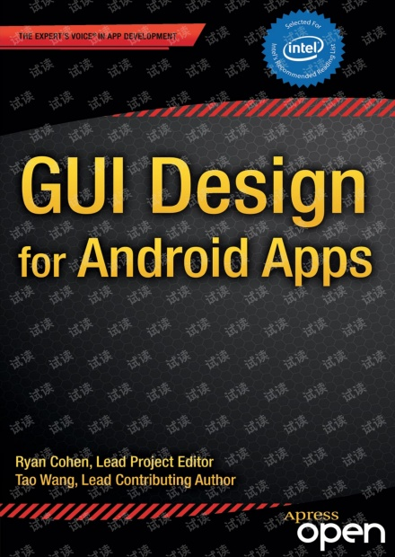 Android Apps的GUI设计(GUI Design for Android Apps)-英文原版,0积分