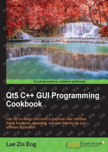 Qt5 C++ GUI编程指南(Qt5 C++ GUI Programming Cookbook)-2016年英文原版,0积分