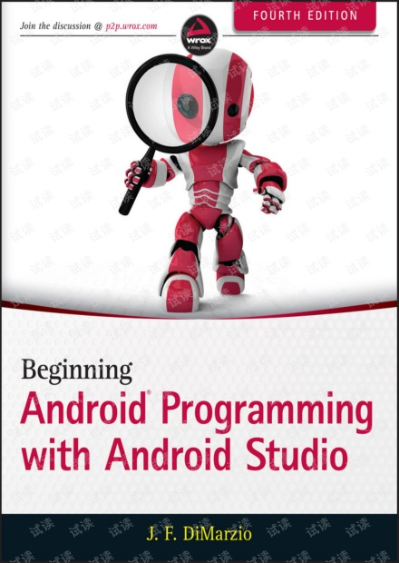 Android编程入门(Beginning Android Programming with Android Studio, 4th Edition)