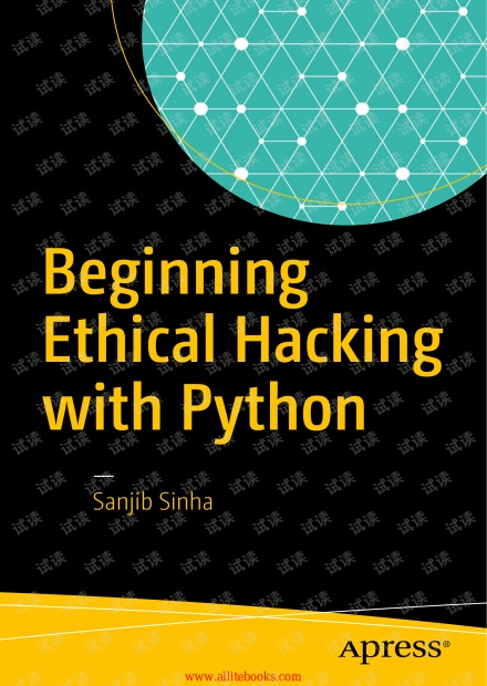 Beginning Ethical Hacking with Python(Apress,2016)