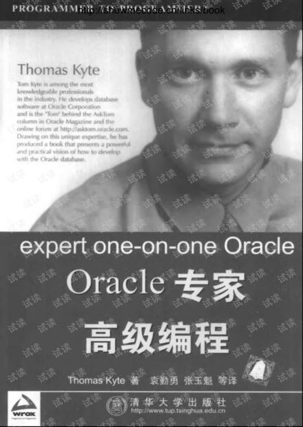 Oracle专家高级编程(中文版).pdf
