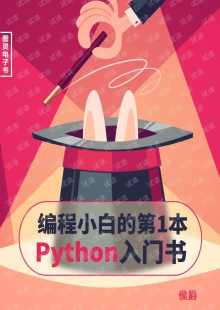 编程小白的第一本 Python 入门书 高清完整版PDF
