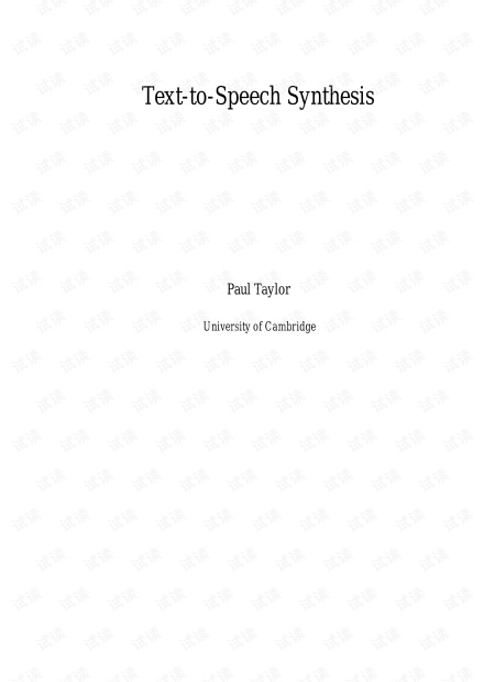 Speech_Synthesis_Paul_Taylor.pdf