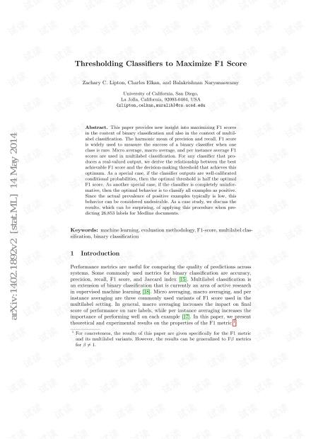 Thresholding+Classifiers+to+Maximize+F1+Score
