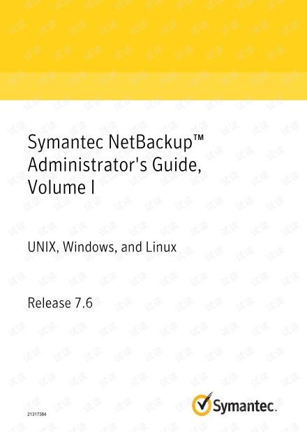 symtec netbackup admin guide.1