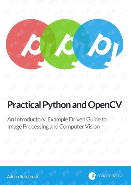 Practical Python and OpenCV by Adrian Rosebrock
