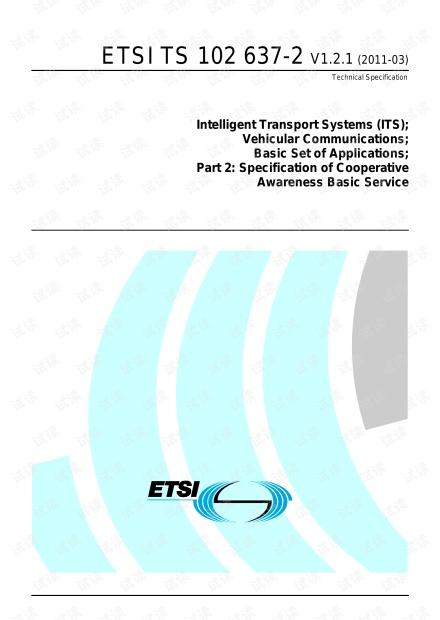 ETSI TS 102 637-2 V1.2.1 (2011-03)