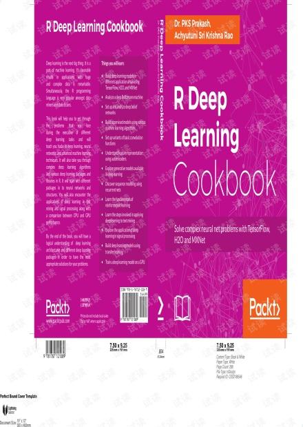 R Deep Learning Cookbook 【PDF】