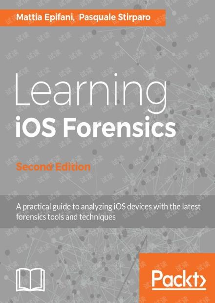 Learning iOS Forensics(2nd) 无水印pdf
