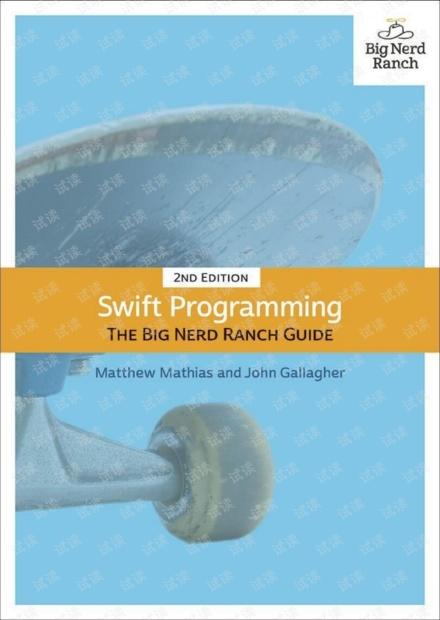 Swift Programming The Big Nerd Ranch Guide(2th) 无水印pdf