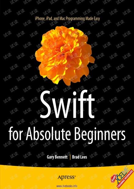 Swift for Absolute Beginners 无水印pdf